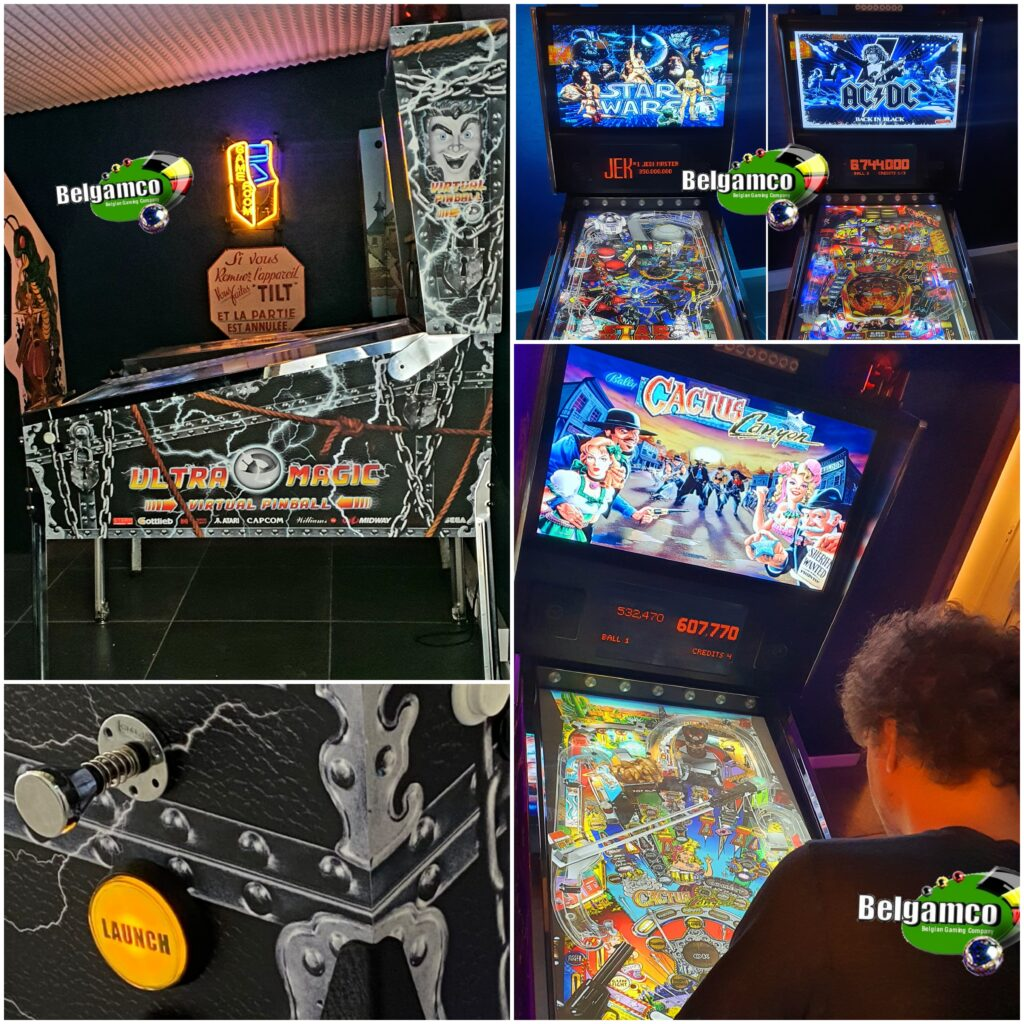 Gameroom CUMVP cabinet